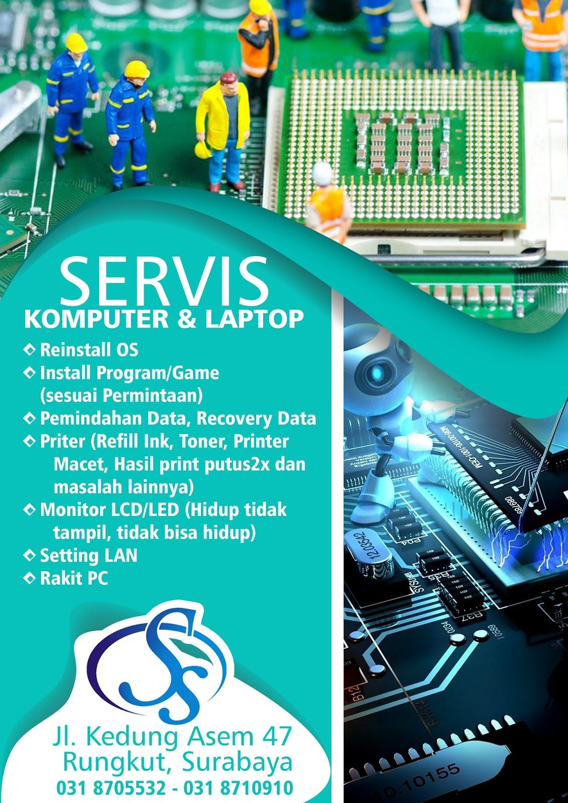 servis laptop jujur terpercaya   servis laptop surabaya