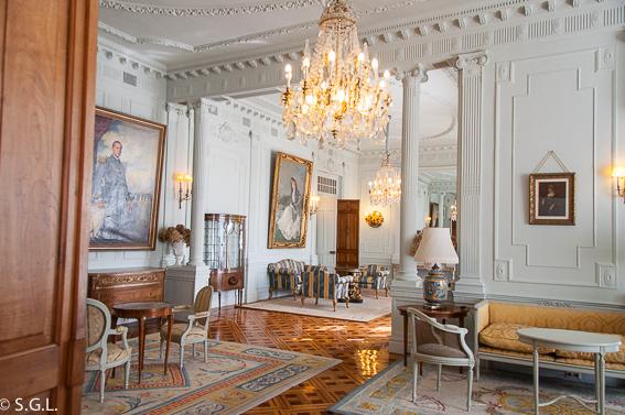 Salon familia Palacio Magdalena. Santander