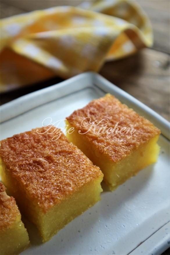 Bingka Ubi Kayu Lembut Dan Lemak Manis Yang Sangat Sedap Azie Kitchen