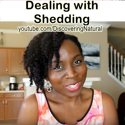 HOW TO REDUCE SHEDDING in NATURAL HAIR