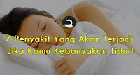 7 Penyakit Yang Akan Terjadi Jika Kamu Kebanyakan Tidur!