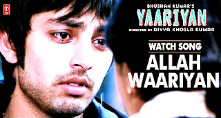 allah waariyan lyrics,yaariyan image,yaariyan movie poster
