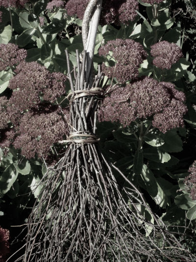 Marvelously Messy  How to Make a Besom Witchs Broom