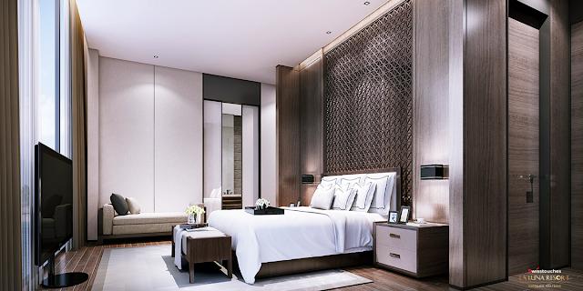 thiết kế phòng ngủ thoải mái tiện nghi