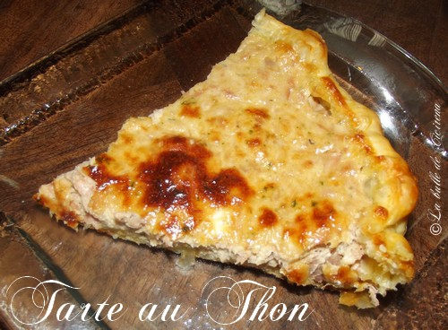 tarte au thon cuisine blog beaut cicirena. Black Bedroom Furniture Sets. Home Design Ideas