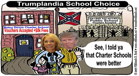 Image result for big education ape Trump DeVos