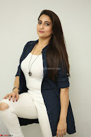 Manjusha in White Tight T Shirt and Black Jacket ~  Exclusive Celebrities Galleries 006.JPG
