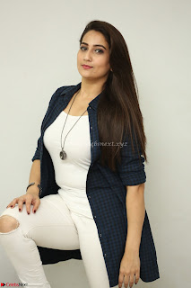 Manjusha in White Tight T Shirt and Black Jacket ~  Exclusive Celebrities Galleries 006