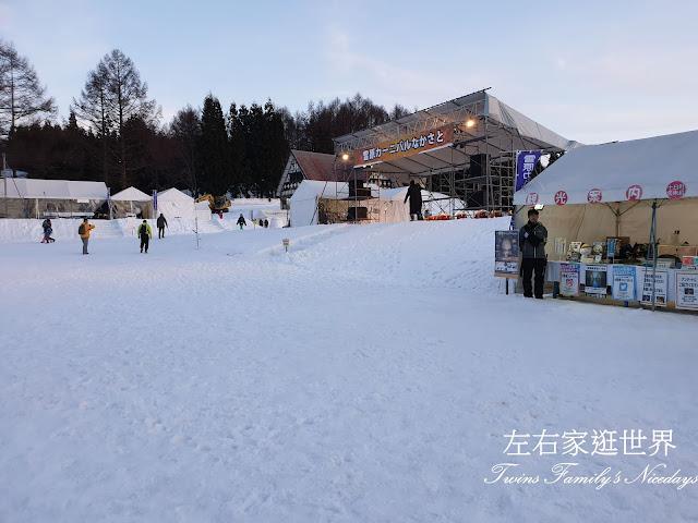 中里雪原嘉年華 會場 舞台