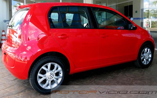 Volkswagen convoca mais de 118 mil unidades do Up! para recall