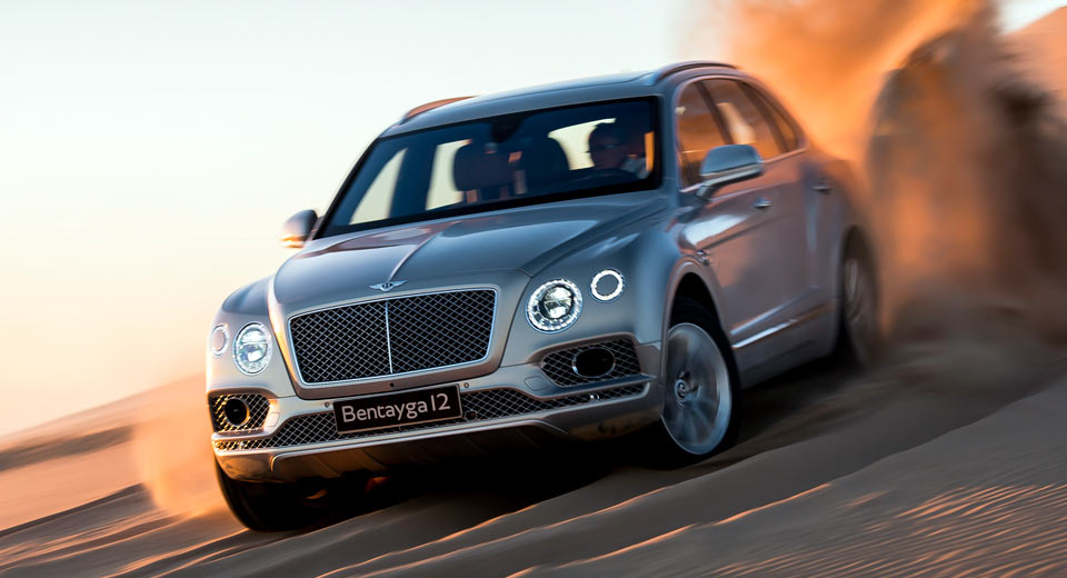Bentley Bentayga To Get Audi SQ7's Trick Diesel Engine