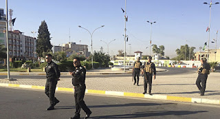 خمسة انفجارات إرهابية استهدفت مركز مدينة كركوك شمال بغداد اليوم