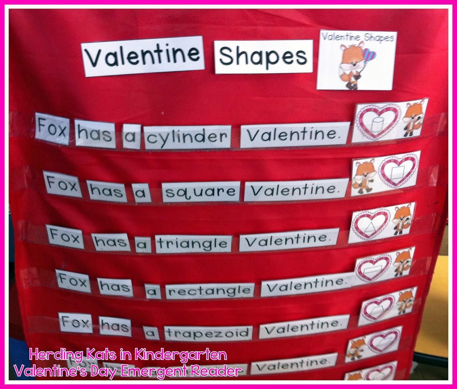 Herding Kats In Kindergarten Valentine S Fun