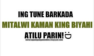 Maligayang pagdating in kapampangan song