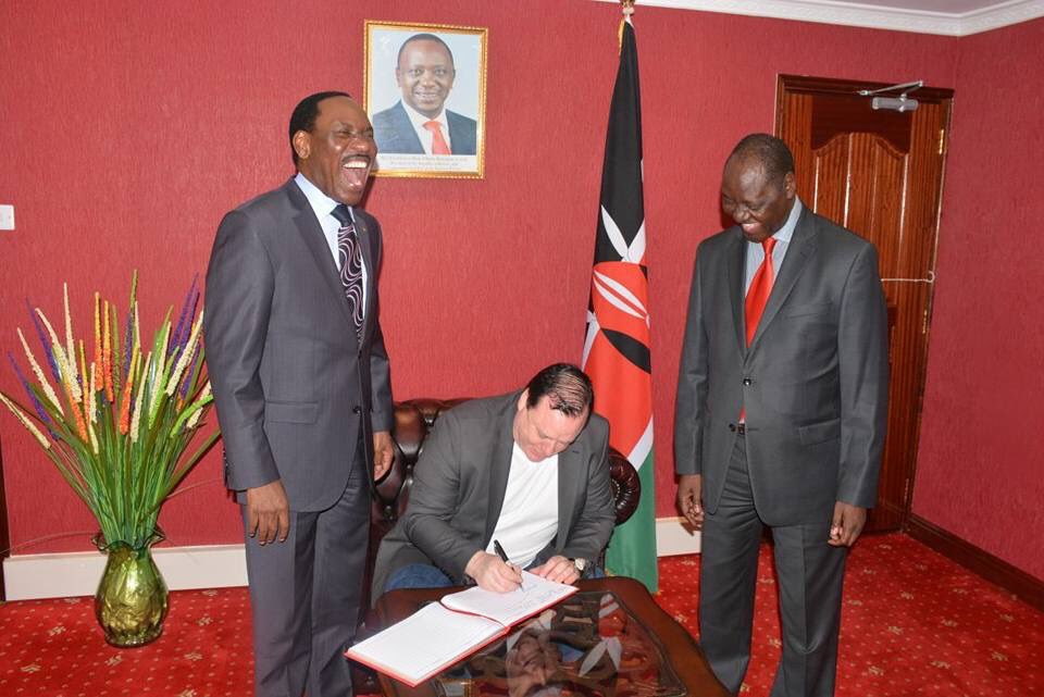 Kenyans Roast Ezekiel Mutua For His Wildebeest Remarks