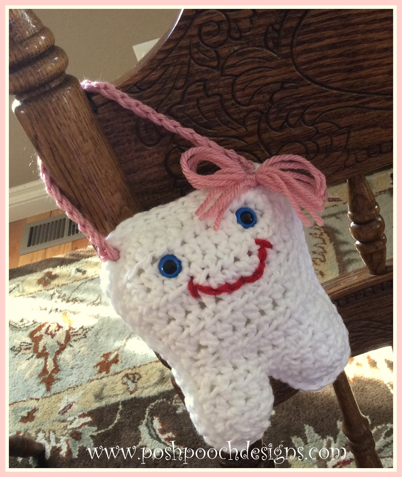 Posh Pooch Designs Dog Clothes Tooth Fairy Pillow Posh