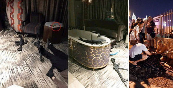News Photos Of Dead Las Vegas Shooter And His Weapons