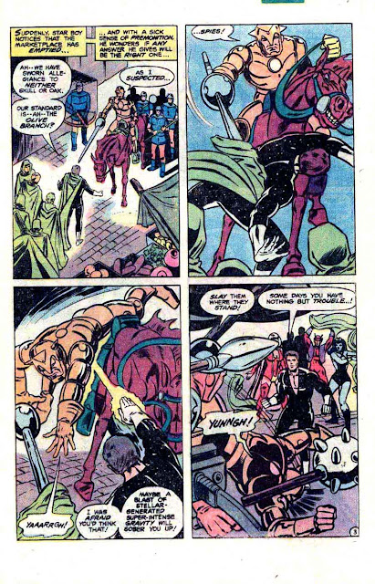 Legion of Super-Heroes v2 #276 - Steve Ditko dc 1980s comic book page art