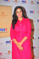 Sree Mukhi in Pink Kurti looks beautiful at Meet and Greet Session at Max Store (70).JPG