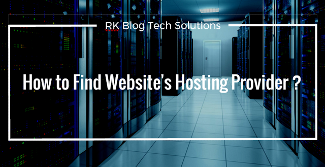 How to find a website or blog hosting provider