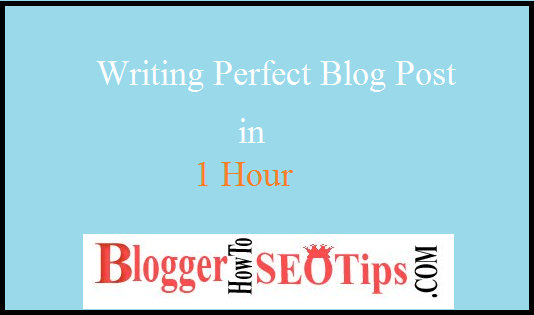 Simply Perfect Blog, Write in Less Time
