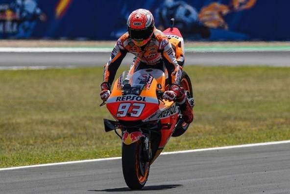 Marc Marquez Juara MotoGP Jerez Spanyol 2019