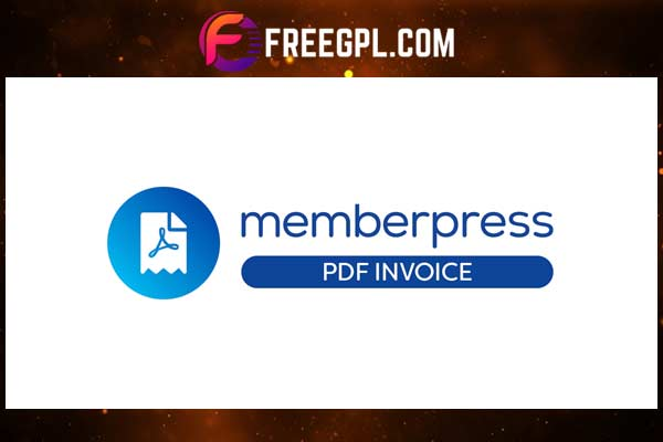 MemberPress PDF Invoice Add-on Free Download