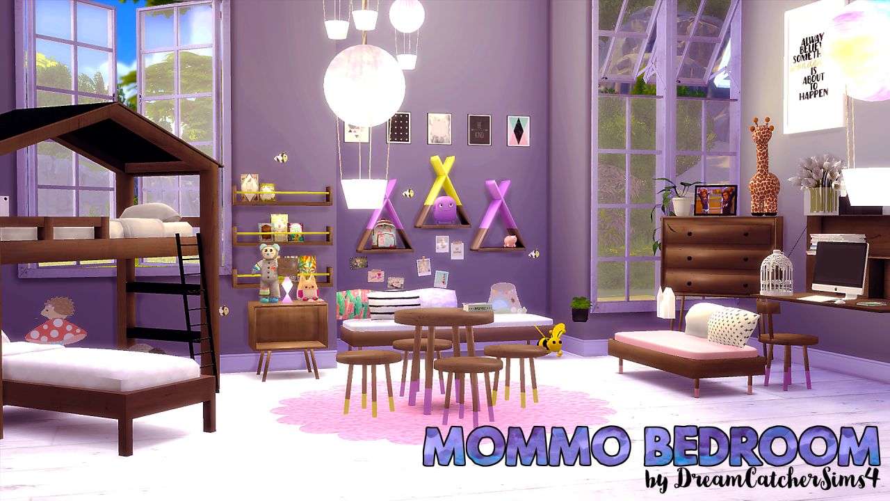 My sims 4 blog mommo bedroom set by dreamcatchersims4 for 4 bedroom