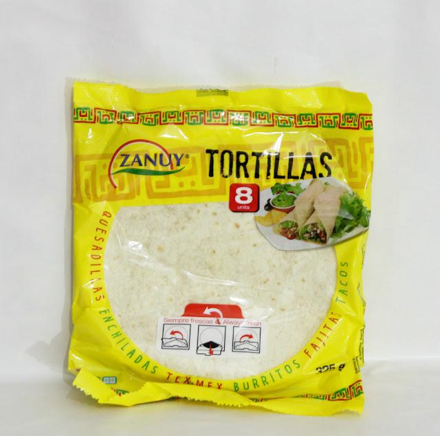 Tortillas Trigo Zanuy