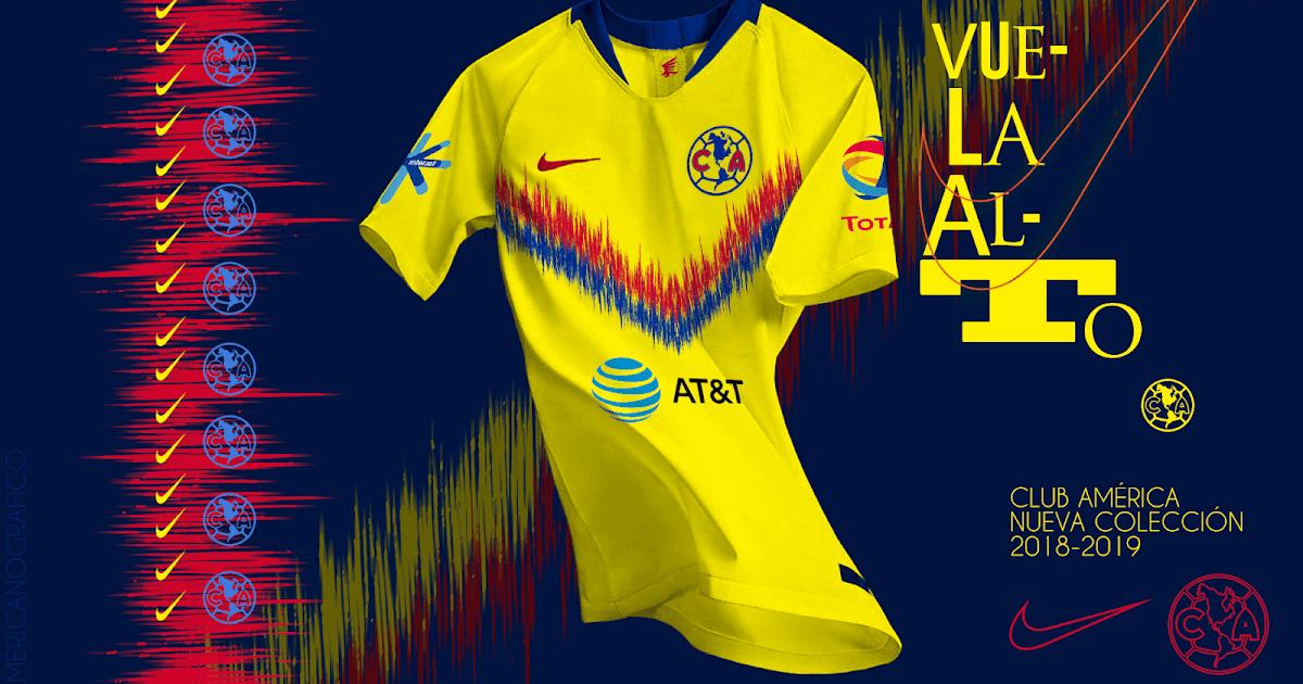 AMERICAnografico  Colección 2018-2019 Club América - Nike 7ad1c59ec