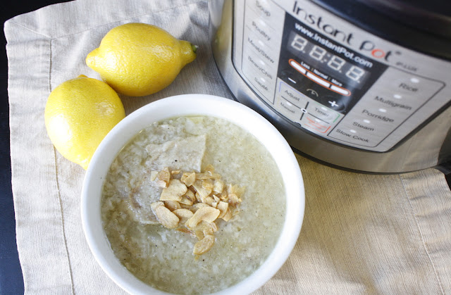 arroz caldo instant pot recipe