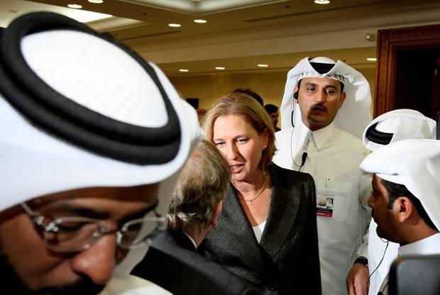 تسيبي-ليفني-زيارة-قطر-الجزيرة-كالتشر-عربية
