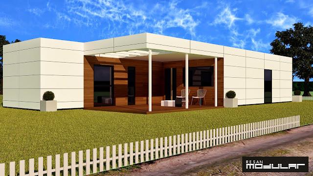 Diseño de vivienda de Resan Modular