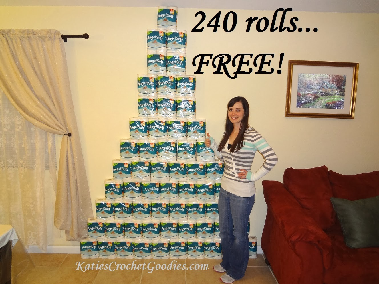 free toilet paper couponing