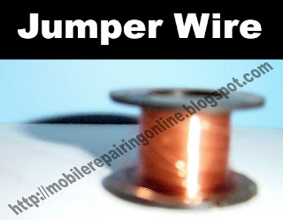 jumper wire used in mobile phone repairing