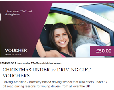 Driving Ambition - Under 17 off road driving expereinces - Christmas Gift Vouchers by email