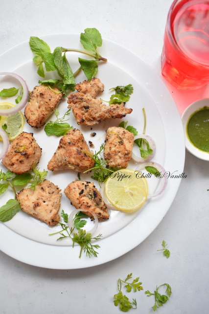 kalimirch tikka recipe