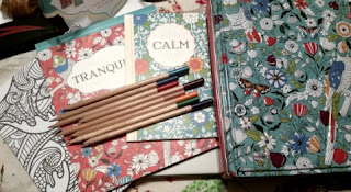 Inspired Coloring Tranquility  contents