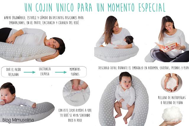 almohada cojín nido embarazo dormir embarazada movimientos fetales blog mimuselina