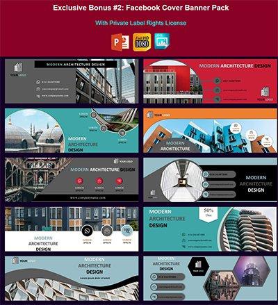 Whitelabel Facebook Cover Banner Pack