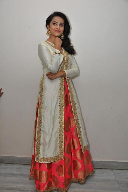 Sri Divya at Kaashmora Telugu Movie Audio Launch