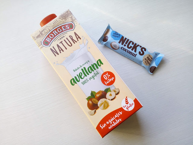 Barritas de coco y chocolate Nick´s