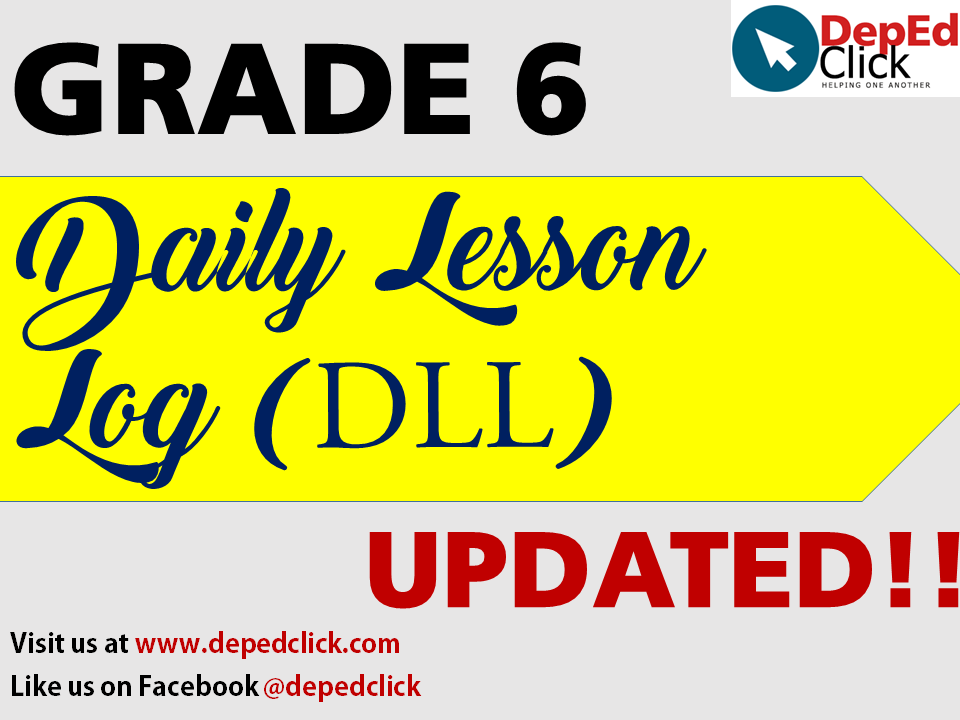 Grade 6 DAILY LESSON LOGS (Compilation) - DepedClick