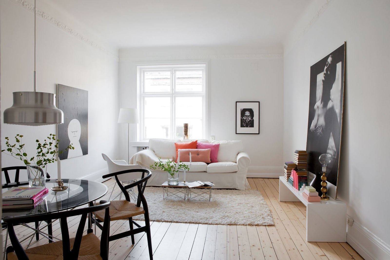 my scandinavian home Art photography in a Malm home