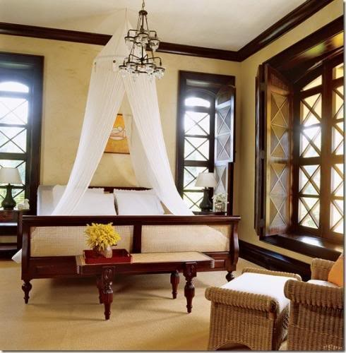 British Colonial Bedroom Furniture With Canopy