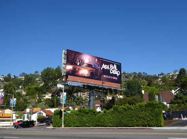 Ash vs Evil Dead Starz billboard