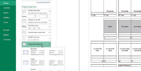 Come selezionare gli elementi da stampare in fogli excel