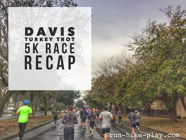 Davis Turkey Trot 5K Race Recap 11/19/16