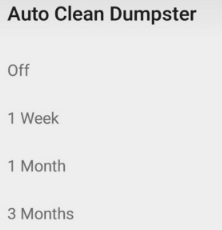 Dumpster Android App