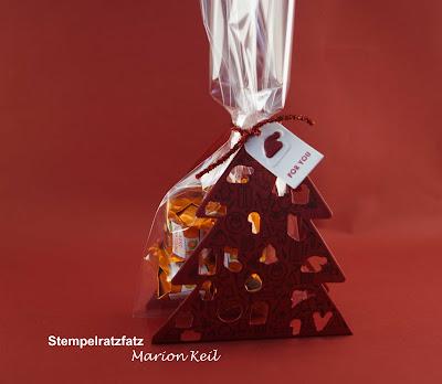 """Verpackung Tannenbaum """"Weihnachtsschmuck"""" mit Stampin´ Up!"""
